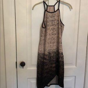 High strappy dress